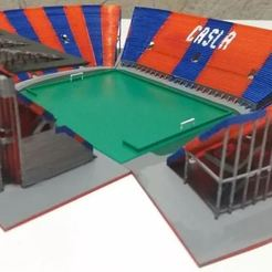 Modelos 3D Estadio Nuevo Gasometro - San Lorenzo - CASLA, Ulesna3D