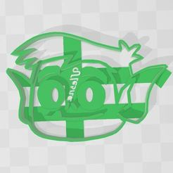 chico bestia.JPG Download STL file TEEN TITANS GO beast boy COOKIE CUTTER • Object to 3D print, Ulesna3D