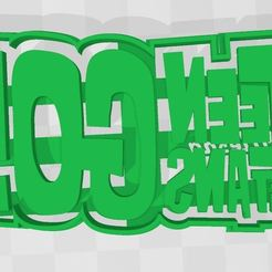 TTG Logo.JPG Download STL file Teen titans go logo cookie cutter • Object to 3D print, Ulesna3D