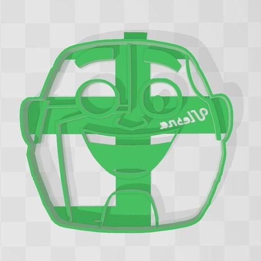 Download 3D printer files TEEN TITANS GO cyborg COOKIE CUTTER, Ulesna3D