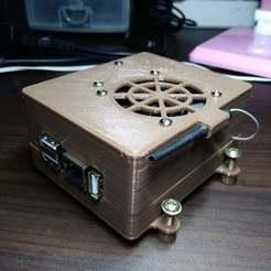 Free 3D printer designs Orange pi PC Plus 50mm Cooling fan case, BetaMan