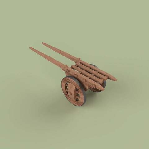Download free 3D printing models 유형거(遊衡車, yuhyeonggeo) - Korean traditional wagon, BetaMan