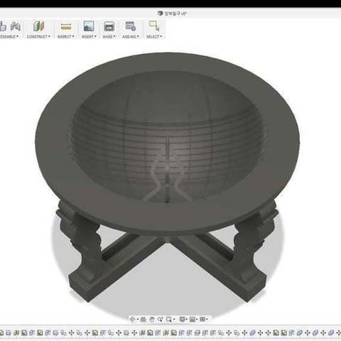 fbd6874e783226492ef5741de1d3767b_display_large.jpg Download free STL file Korean traditional sundial • 3D printable model, BetaMan