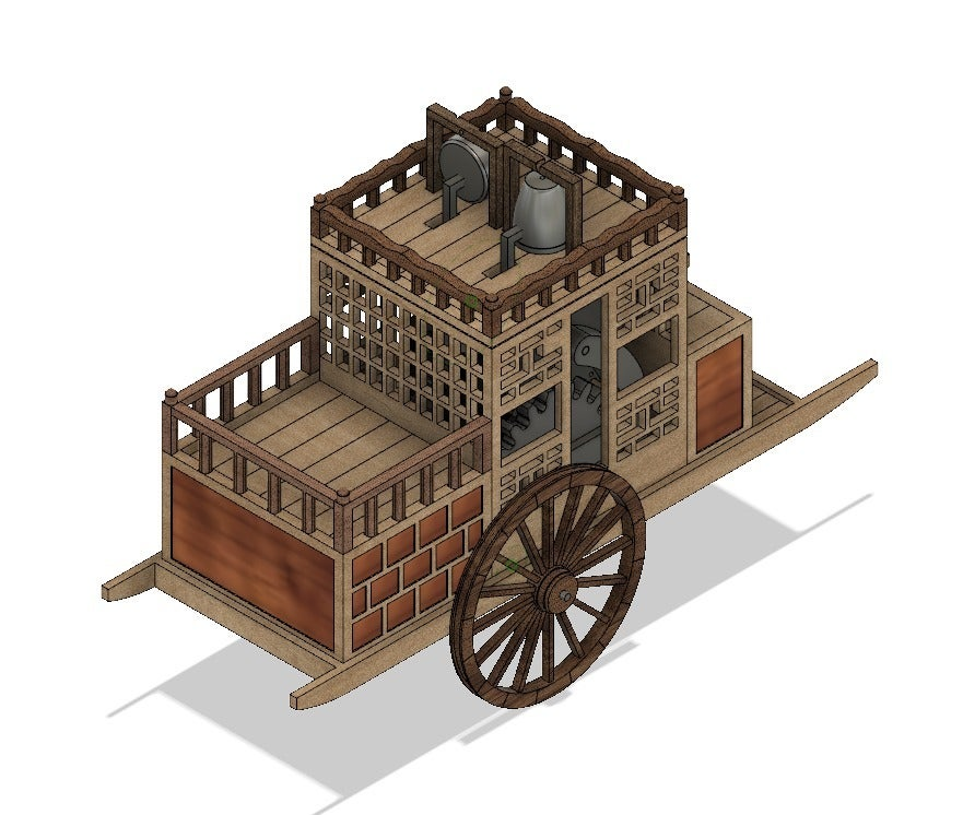 ed15309095e612491ee3f1f7bd27241b_display_large.jpg Download free STL file Korean traditional distance measuring carriage • Object to 3D print, BetaMan