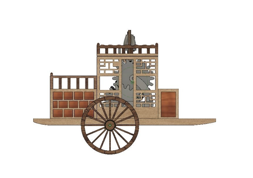 1143466cf97b9544ce55de4623a85e84_display_large.jpg Download free STL file Korean traditional distance measuring carriage • Object to 3D print, BetaMan