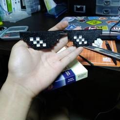 Impresiones 3D gratis Gafas de sol Thug Life, BetaMan