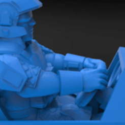 medium_preview_VENATOR_DRIVER.png Download free STL file Hunter buggy driver • 3D printable design, KarnageKing