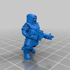 Download free 3D printer files Rifle Chaos cultists/ renegade traitor, KarnageKing