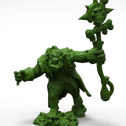 Download 3D printer model A weird and psychic orc boy, KarnageKing