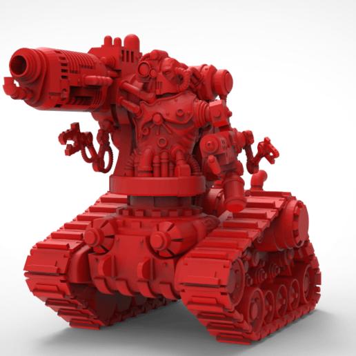 Download free 3D printer model Mars automated destroyer, KarnageKing
