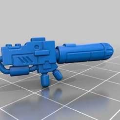 Download free 3D printer designs Hazard suit plasma rifle, KarnageKing