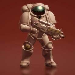 Descargar diseños 3D gratis Terran Prime Space Marine, KarnageKing