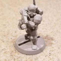 Télécharger modèle 3D gratuit Soldat de science-fiction, KarnageKing