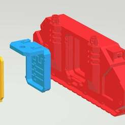 Download free 3D printer model Predator side sponson, KarnageKing