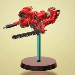 Download free 3D printing models Death from above assault marine, KarnageKing