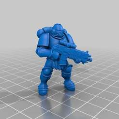 Download free STL file Prime SigMarine • 3D printer object, KarnageKing