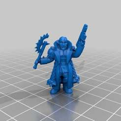 Download free 3D printer templates Melee Chaos cultists/ renegade traitors, KarnageKing