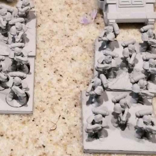 Download free 3D printer model Epic 6mm marines, KarnageKing