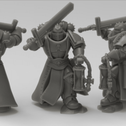 JUDICIAR.png Download STL file Judging executioner with a big sword and hourglass • 3D printable design, KarnageKing