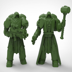 large_display_battebrothers_pic.png Download free STL file Battle brothers with more robes and gear • Design to 3D print, KarnageKing