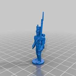 Download free STL file French Soldier • 3D printing template, KarnageKing