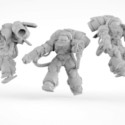 Download free STL file Inception of intercepting inceptors • 3D printer model, KarnageKing