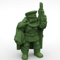 command.png Download free STL file Commander and commissar • 3D printable model, KarnageKing