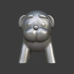 Pug-01.jpg Télécharger fichier STL Carlin • Plan pour imprimante 3D, W_asabi