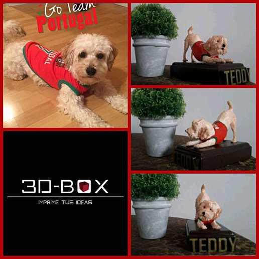 teddy.jpeg Download STL file I AM 3D-BOX : TEDDY, RAMBO,VIGO • Template to 3D print, johnnyandresparrales