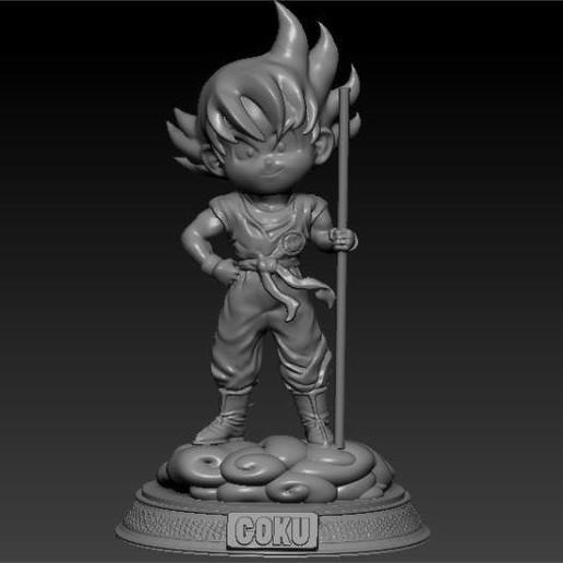 Download 3D-printerontwerpen GOKU CHIBI, johnnyandresparrales