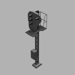 Descargar diseños 3D NMBS seinpaal, alexanderdeconinck