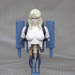 Download 3D printing models Ghost in the shell - Project 2501- Puppet Master , exclusive3dprinting
