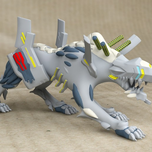 Download 3D printer designs US Evangelion/Wolfpac Anima - STL, exclusive3dprinting