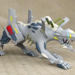 Download 3D printer designs US Evangelion/Wolfpac Anima - STL, exclusive3dprinting