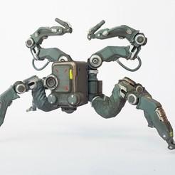 Download 3D printer designs cyberpunk 2077 robot, exclusive3dprinting