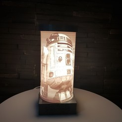 Imprimir en 3D R2D2 LAMP - STAR WARS, SINAX3D
