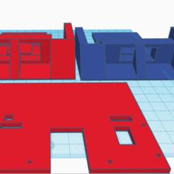 Minisumo 1.png Télécharger fichier STL Minisumo Chassis • Objet à imprimer en 3D, ProfeTony