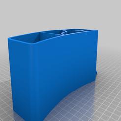 Dental_Organizer.png Download free STL file Dental Organizer with Sonicare brush holder • 3D print object, martinnohr76