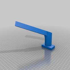 Filament_mount_v2.png Télécharger fichier STL gratuit Porte-bobine pour l'extrudeuse Ender 5 déplacée • Modèle pour imprimante 3D, martinnohr76