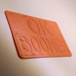 Download 3D printing models OKBOOMER Card, ArthurZak