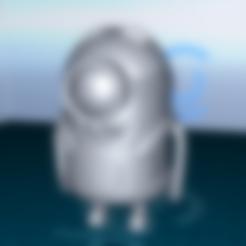stuart.stl Download free STL file minion stuart • 3D printing object, 1001thing3d