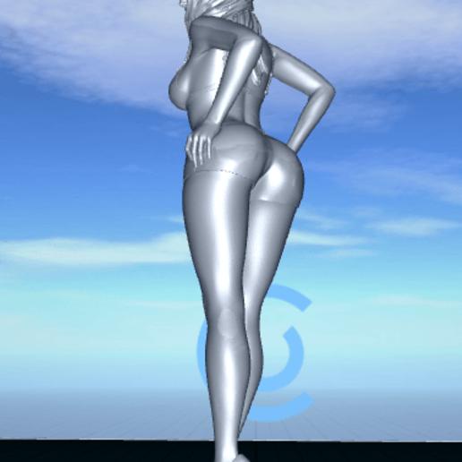 2020-06-22_07-12-20.png Télécharger fichier STL gratuit jolie femme en short • Modèle pour impression 3D, 1001thing3d