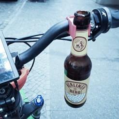Download free STL files bike holder, 1001thing3d