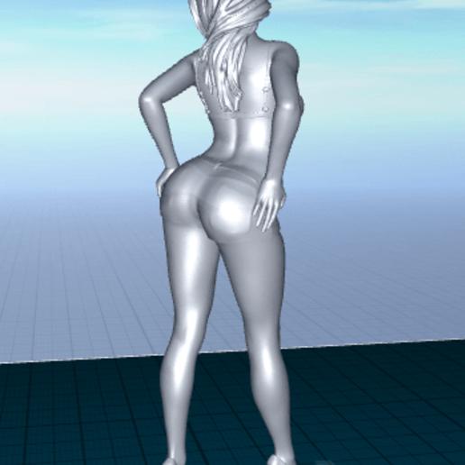 2020-06-22_07-12-00.png Télécharger fichier STL gratuit jolie femme en short • Modèle pour impression 3D, 1001thing3d