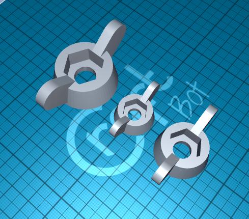 2020-06-20_12-51-38.png Télécharger fichier STL gratuit poignée pour l'écrou • Objet pour impression 3D, 1001thing3d