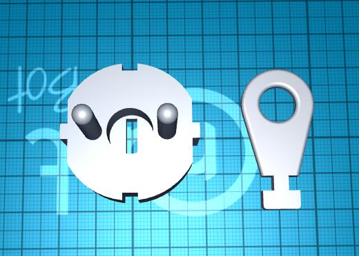 2020-06-20_12-59-02.png Télécharger fichier STL gratuit fiche pour prise de courant avec clé • Design à imprimer en 3D, 1001thing3d