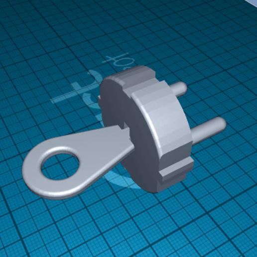 2020-06-20_13-00-06.png Télécharger fichier STL gratuit fiche pour prise de courant avec clé • Design à imprimer en 3D, 1001thing3d