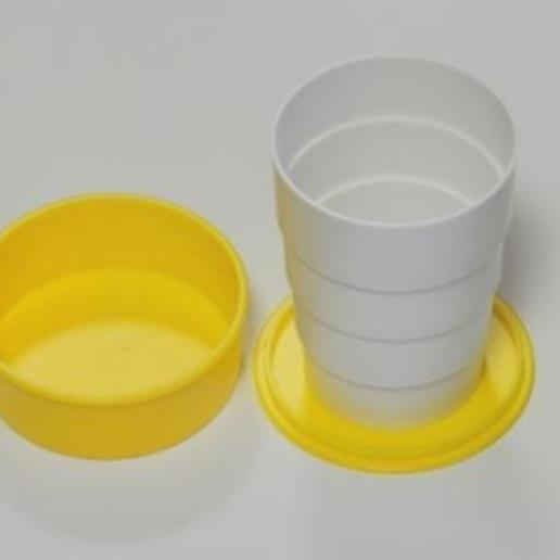 Download free STL file Collapsible Cup • 3D printable object, 1001thing3d