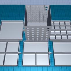 Télécharger fichier STL gratuit boîte de rangement • Design pour imprimante 3D, 1001thing3d