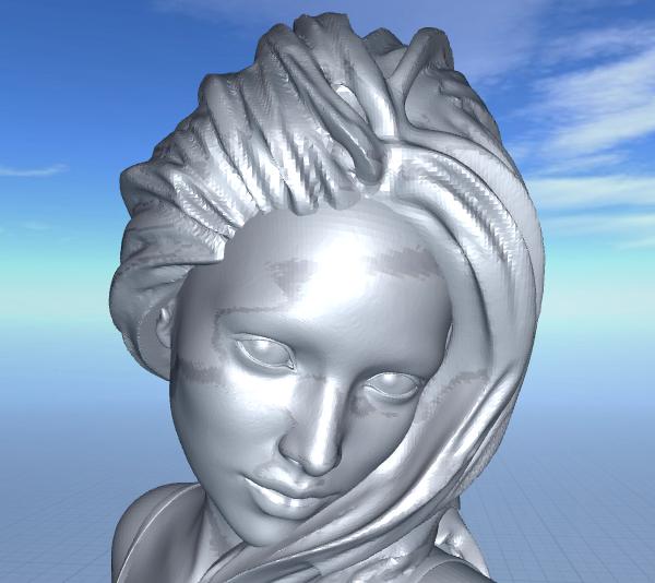 2020-06-22_07-13-39.png Télécharger fichier STL gratuit jolie femme en short • Modèle pour impression 3D, 1001thing3d